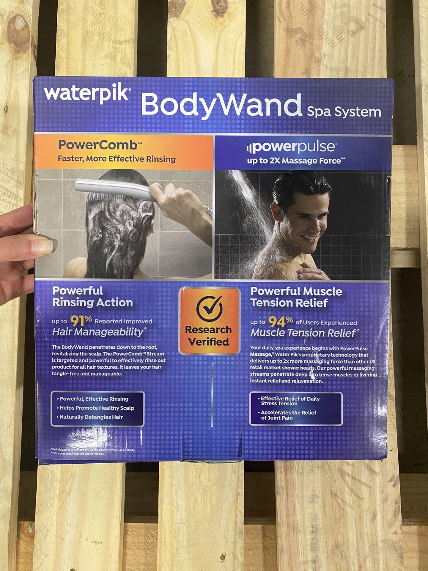 Waterpik® PowerPulse BodyWand Spa System with PowerComb™ Stream