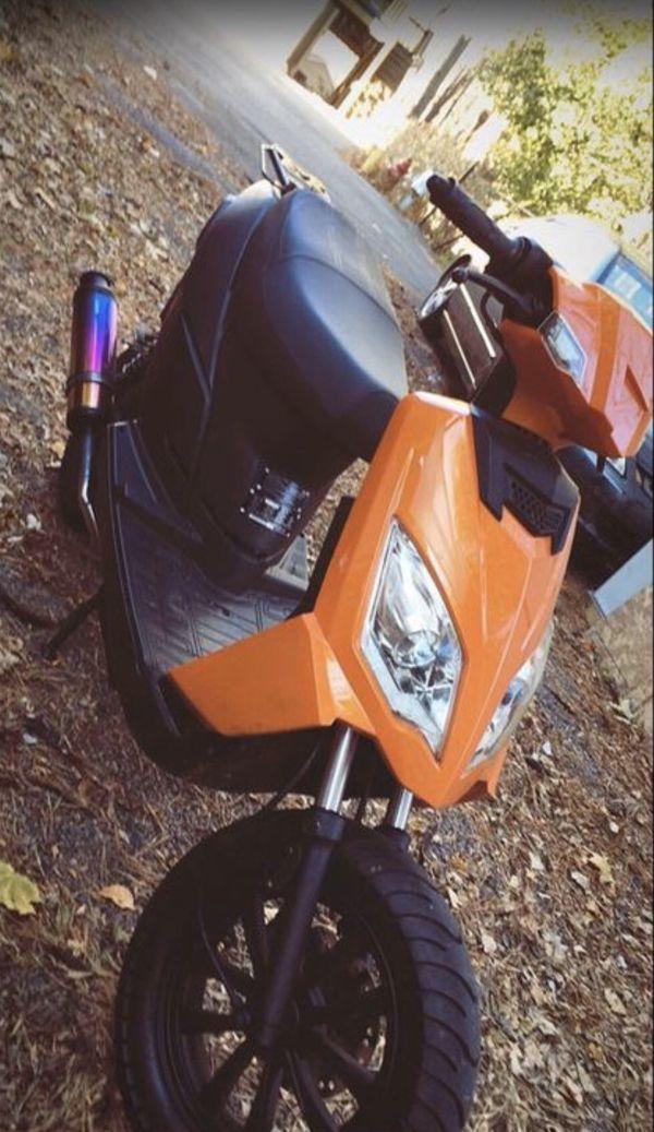 Moped 110cc