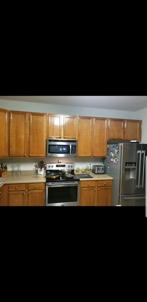 Kitchen Cabinets Whit Formica Countertop For In Raleigh Nc