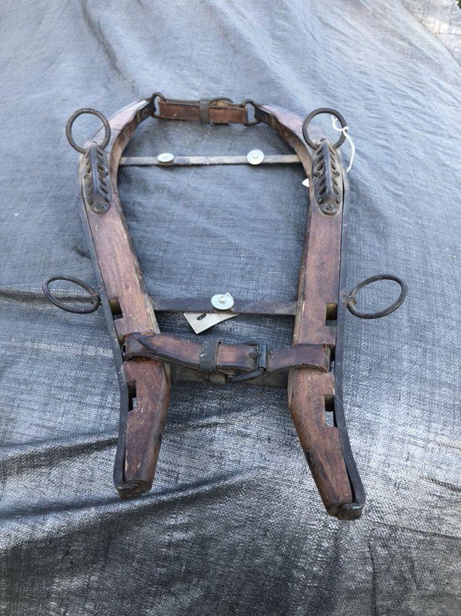 Collectible horse or mule collar
