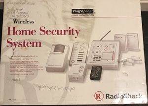 RadioShack Wireless Home Security System for Sale in Marshall, VA
