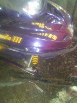 Skidoo rotax 3 snowmobile needs head of engine for Sale in Maple Valley, WA