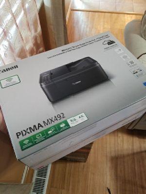 Canon PIXMA MX492 wireless-print-copy-scan-fax for Sale in Seattle, WA