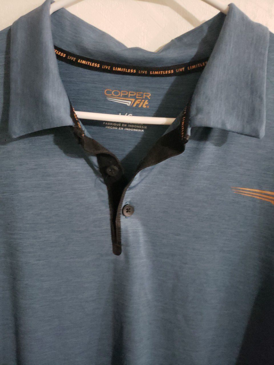 Copper Fit Polo Shirt