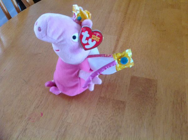Peppa Pig Princess Peppa - Ty Beanie Baby for Sale in Sharon 10837d2ba59a