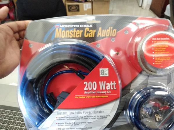 Pleasant Monster Cable Amplifier Wiring For Sale In Colton Ca Offerup Wiring Digital Resources Ommitdefiancerspsorg