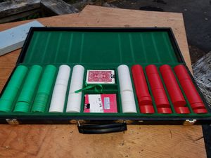 Poker chip set for Sale in Federal Way, WA