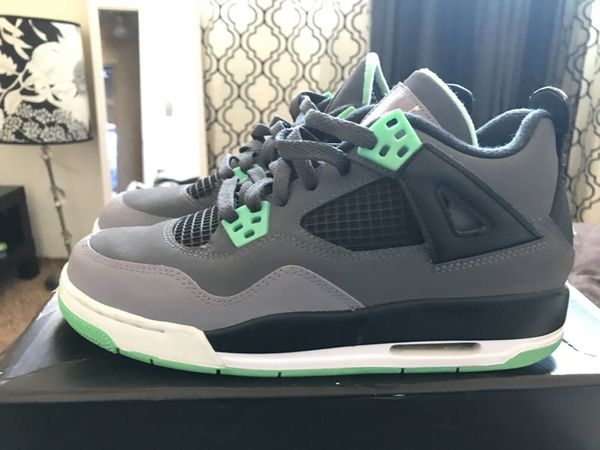 cheap for discount bd201 1a288 Jordan Green Glow 4s for Sale in Fremont, CA - OfferUp