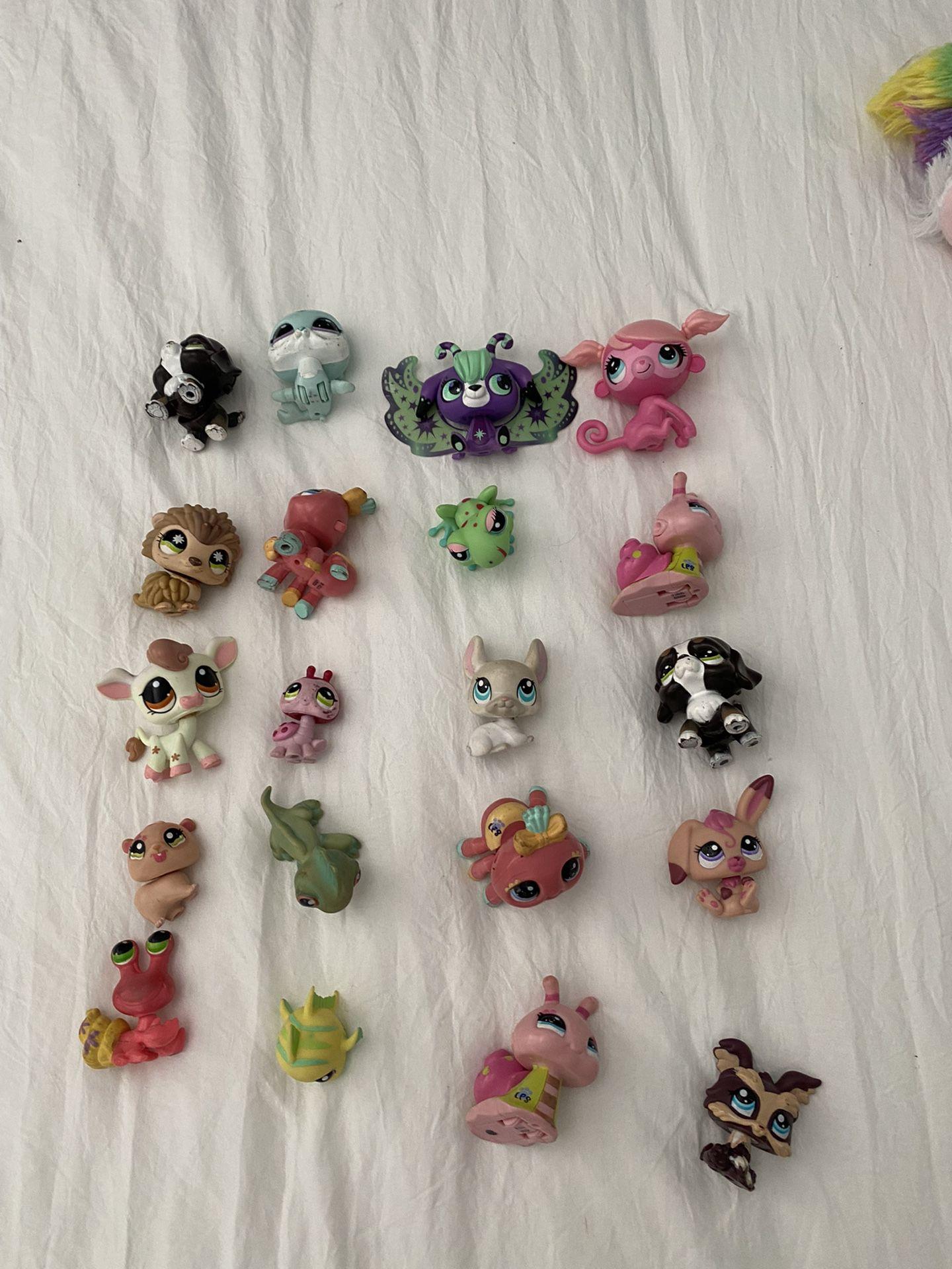 Littlest Pet Shop Lps Toy 20 Pieces