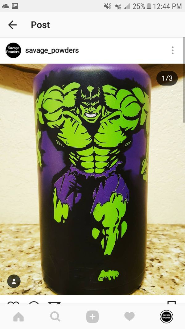 Custom Cup All Powder Coat Yeti Ozark Rtic Tumblers for Sale in San  Antonio, TX - OfferUp