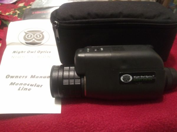 Night Owl Cyclops Compact Night Vision Monocular for Sale in Lake Worth, FL  - OfferUp