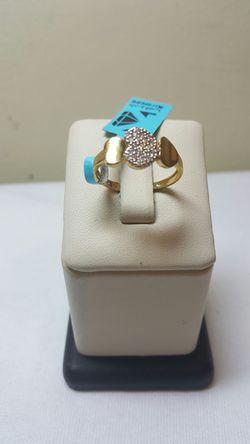 18k yellow gold ring Thumbnail
