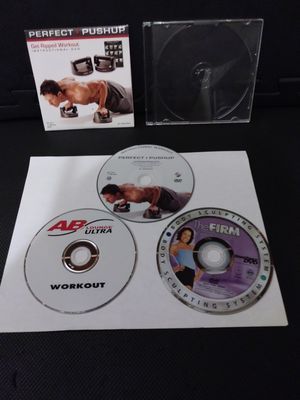 Workout DVDs Lot for Sale in Gaithersburg, MD