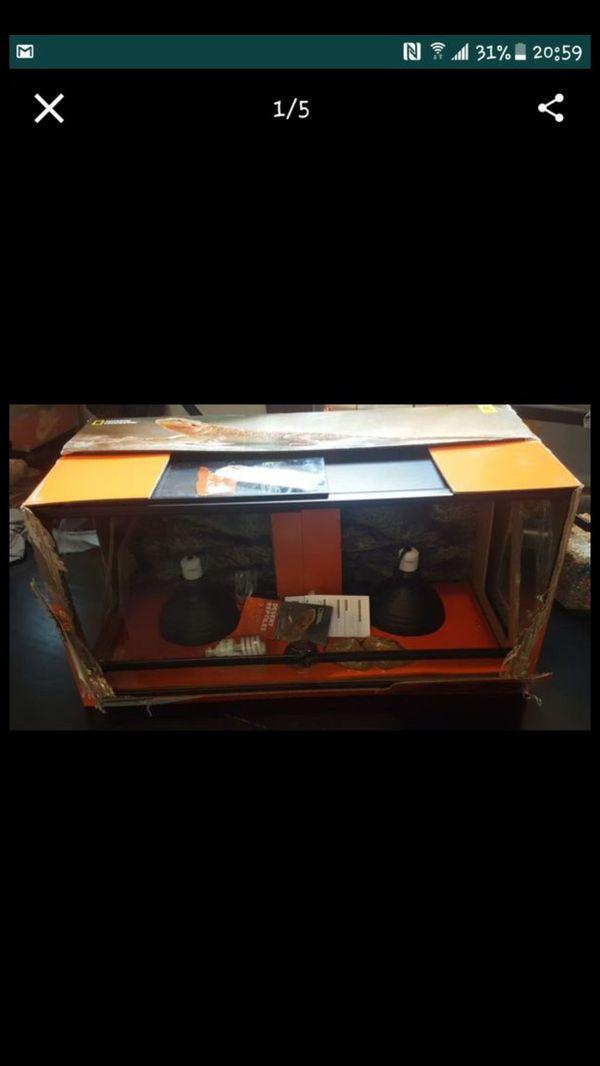 40 Gallon Long Reptile Terrarium Starter Kit For Sale In Burbank Il