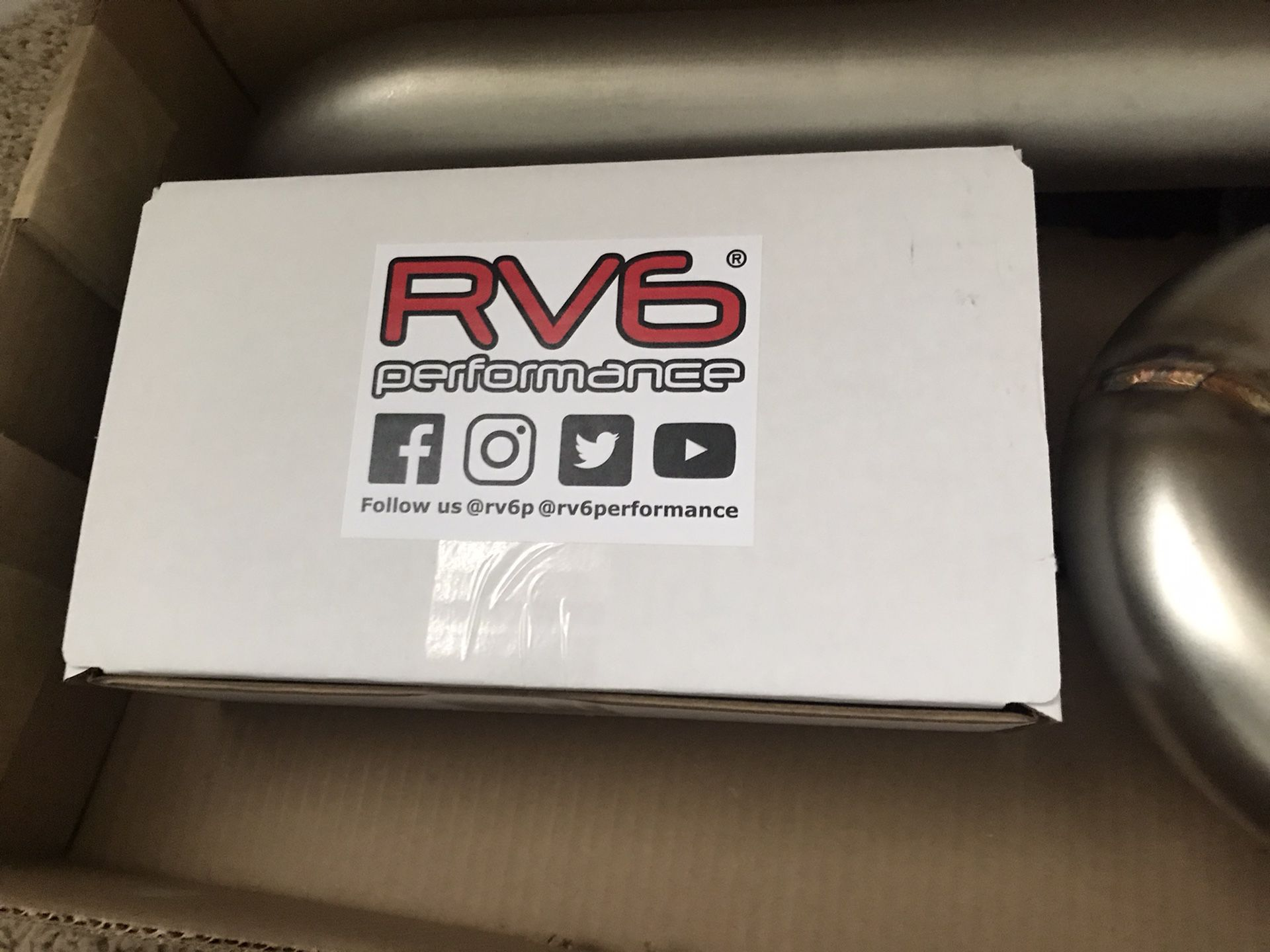 Rv6 Performance Downpipes And J Pipe