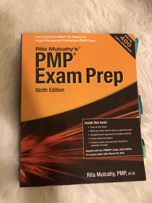 Rita Mulcahy's PMP Exam Prep - newest edition for Sale in Scottsdale, AZ