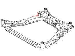 Nissan Rogue OEM Engine cradle 544004BA0A for Sale in Fairfax, VA