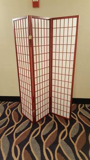 Brand New 3 Panel Cherry Wood Room Divider for Sale in Silver Spring, MD