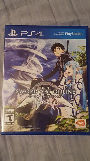 Sword Art Online Lost Song Ps4 For In Jacksonville Fl