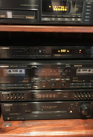 Pioneer Stereo System with pair of large Pioneer Speakers for Sale in Alexandria, VA