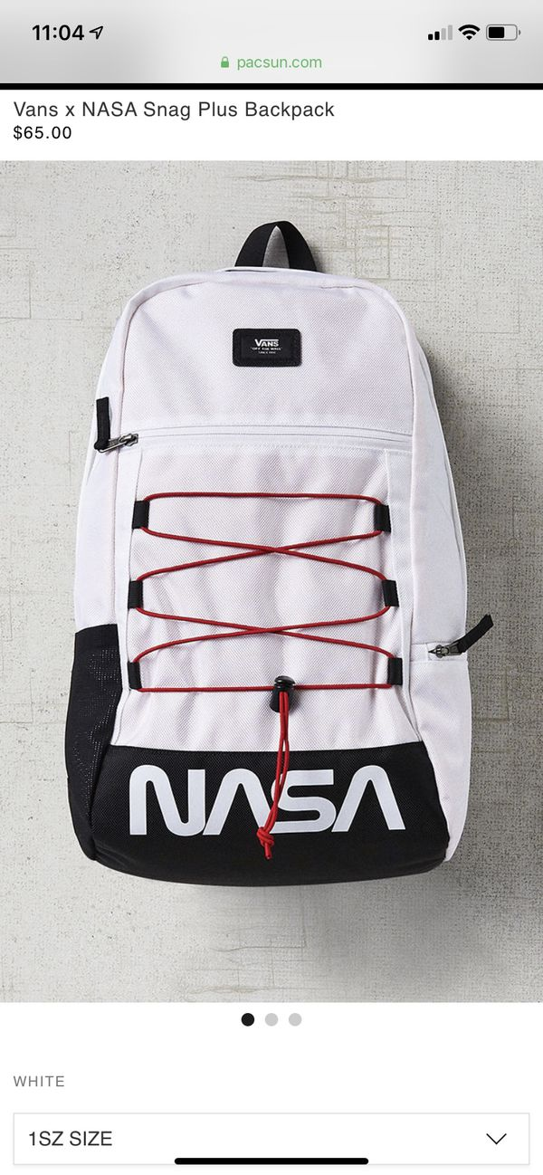 Vans x Nasa Backpack Drop for Sale in Orange, CA - OfferUp