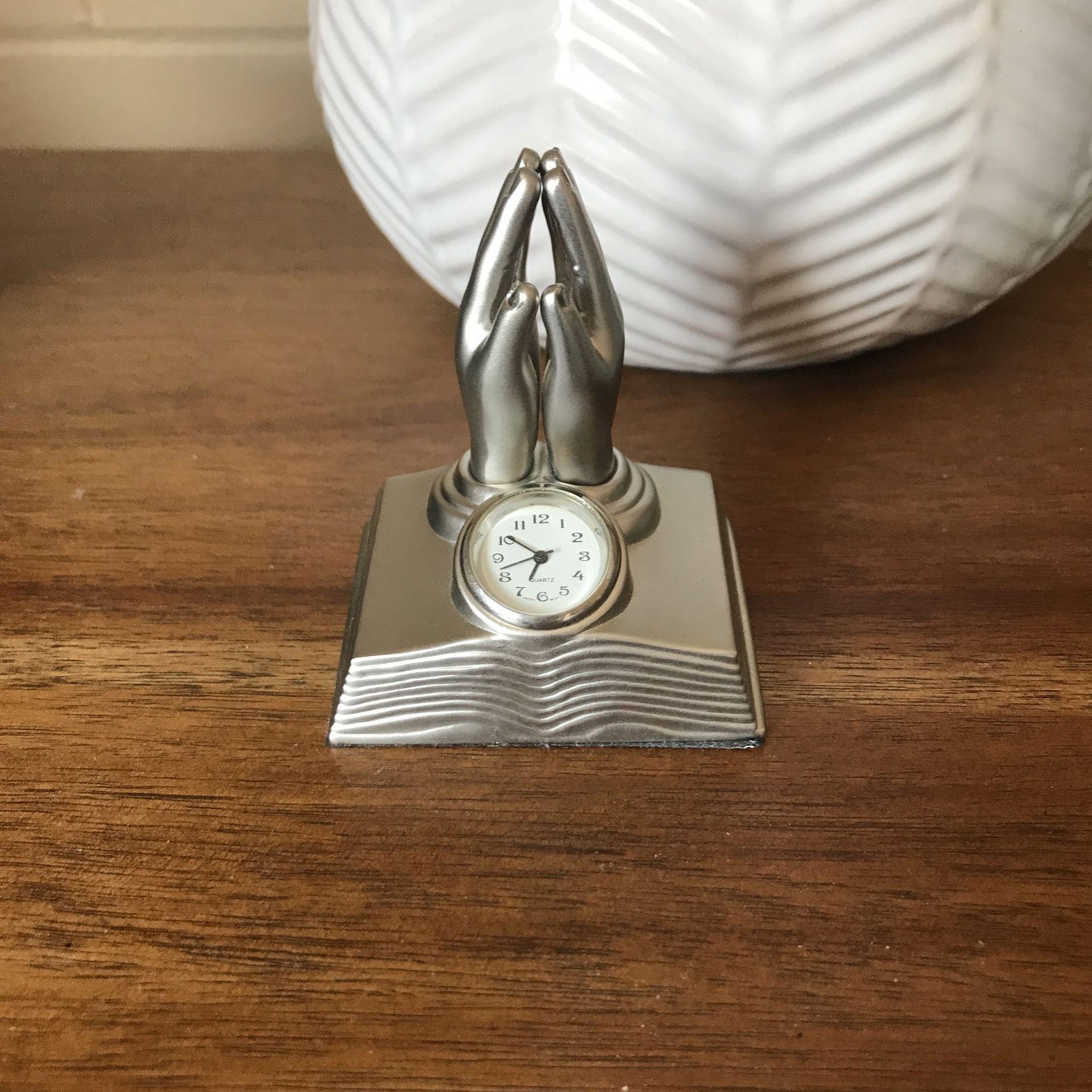 Prayer Clock - Small, Desk/Nightstand, Gift