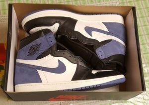 NEW WITH BOX Authentic Jordan 1 Retro High Blue Moon for Sale in Arlington, VA