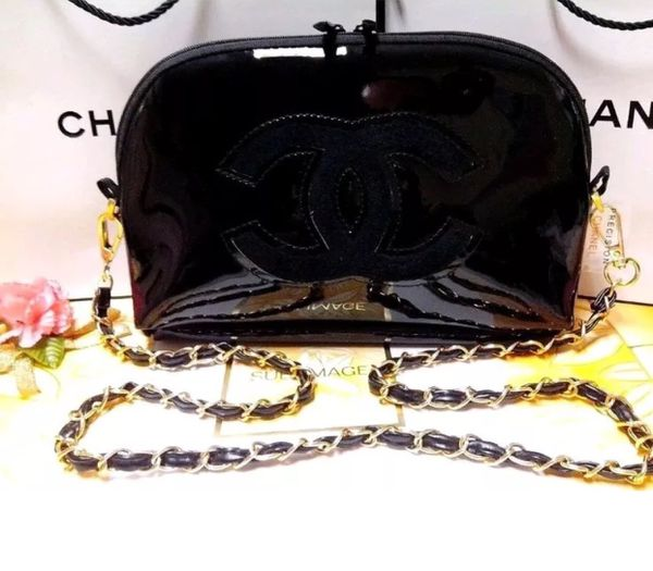 5cbbfc67976d Chanel VIP gift bag Crossbody for Sale in Kent
