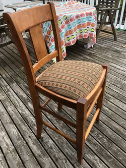 Four Counter Height Chairs Thumbnail