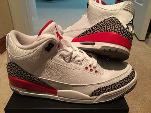 "Photo "" PRISTINE CONDITION- JORDAN RETRO 3 / ELEPHANT PRINT !!! ( MENS 11 ) !! 100% AUTHENTIC !!!!! ( KATRINA ) : USED ONLY ONCE !!! * JUST REDUCED * !!!!"