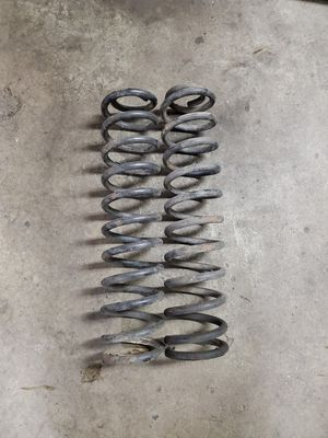 Photo Jeep tj 6 inch front lift coils