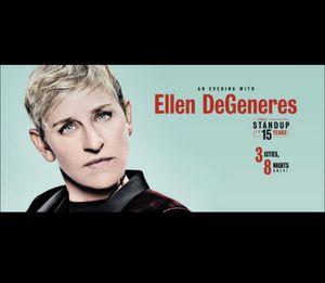 Ellen Degeneres ticket 8/22/18 8pm (awesome Seats) PDF/Mobile ticket transfer for Sale in Seattle, WA