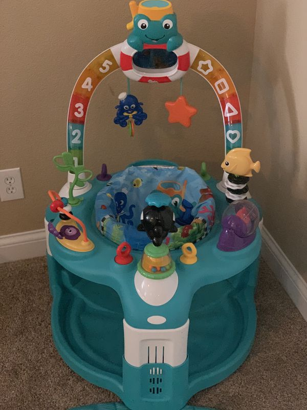 a13bcaf2b Baby Einstein saucer and play mat for Sale in Henderson