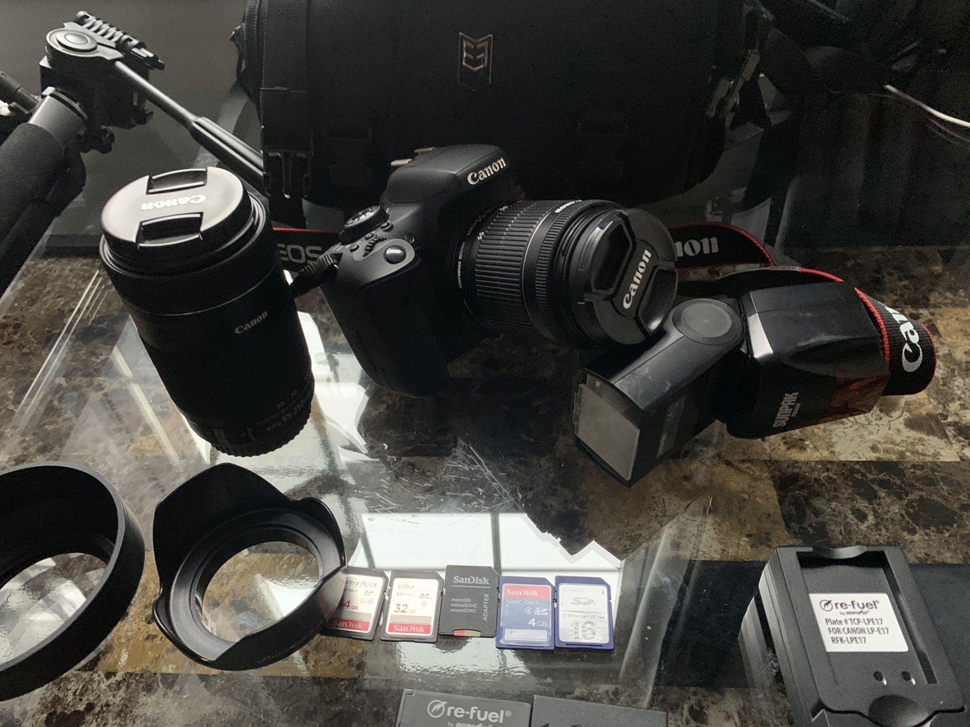 Canon Rebel T6i Camera