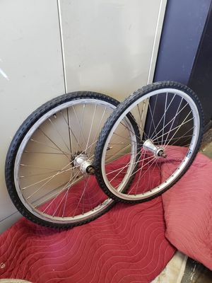 Photo 20 bmx bike racing wheel set