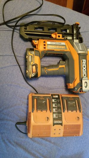Finish nail gun like new for Sale in Hyattsville, MD
