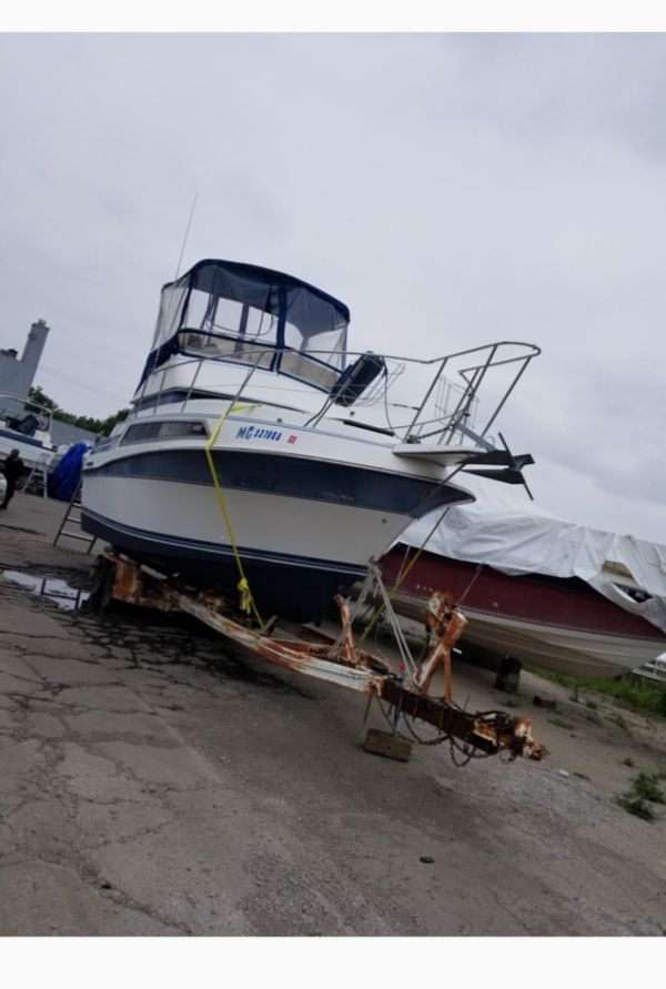 1989 carver w/trailer for sale