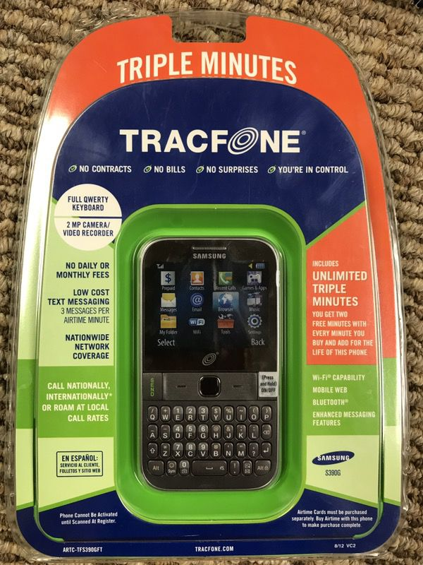 TRACFONE SAMSUNG S390G New No Contract for Sale in Midland, MI - OfferUp
