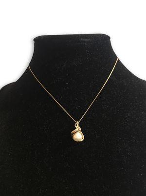 14k pearl/diamond necklace for Sale in Alexandria, VA
