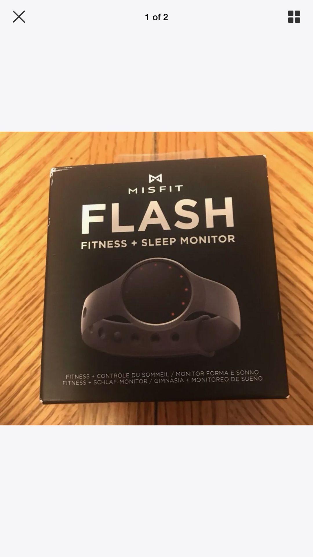 Flash fitness and sleep monitor