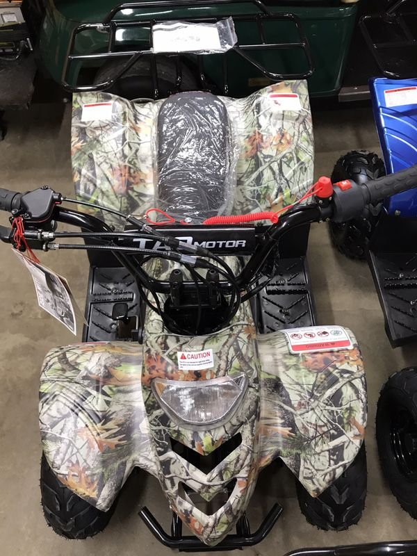 2019 kids 110cc atvs (brand new) 4 colors to choose from