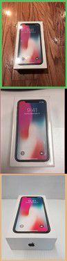 iphone X (10) 256 GB Space Gray Factory Unlocked for Sale in Lafayette, LA