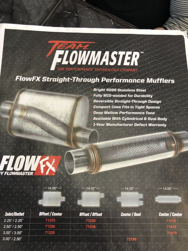 Flowmaster 71235 FlowFX Muffler