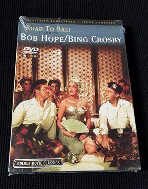 Road to Bali 1952 Color Movie Bob Hope, Bing Crosby, Dorothy Lamour 2004 DVD for Sale in Las Vegas, NV