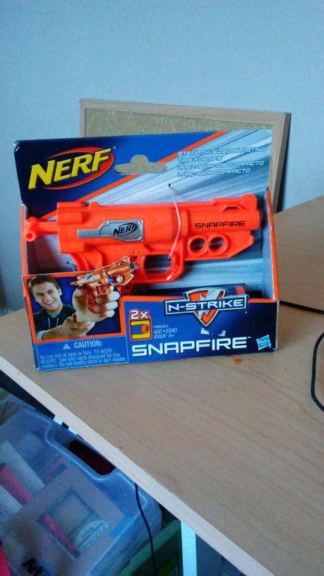 Nerf n strike snapfire gun for Sale in Nashville, TN - OfferUp