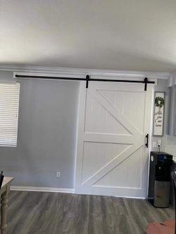 Barn Door With Hardware  Thumbnail