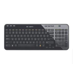 Logitech K360 Wireless USB Desktop Keyboard — Compact Full Keyboard for Sale in Sully Station, VA