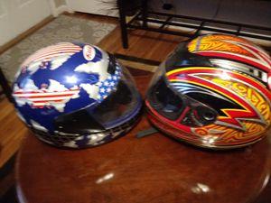 Best deal for helmet ! SIZE large both 50.00 for Sale in Nashville, TN