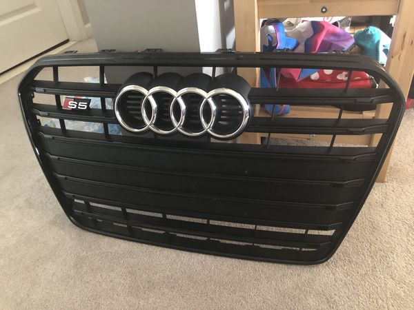 oem audi b8 5 (2013-2016) s5 black optics grille for Sale in Manassas, VA -  OfferUp