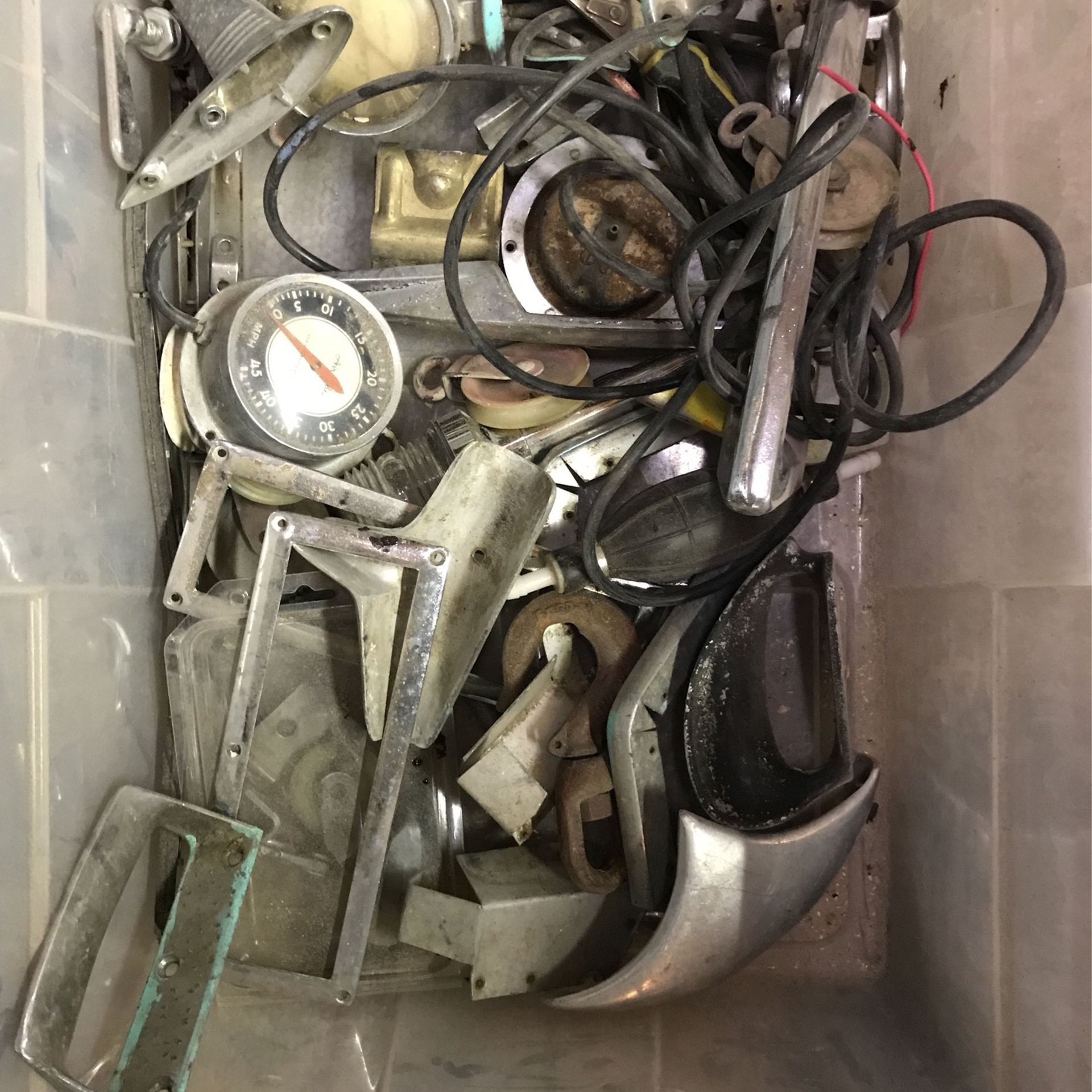 Photo Over 60 Items Misc. Vintage Boat Hardware